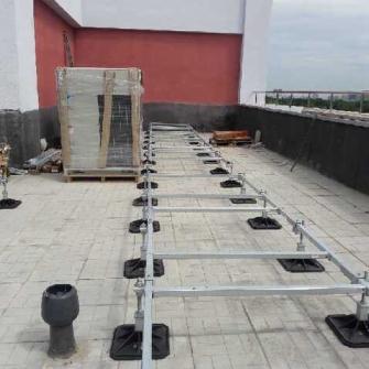 Опорно-крепежные системы BIG FOOT на объектах