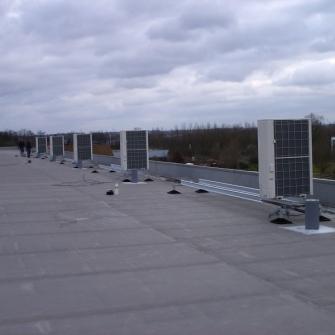Cистемы крепления Big Foot на объектах Бельгии
