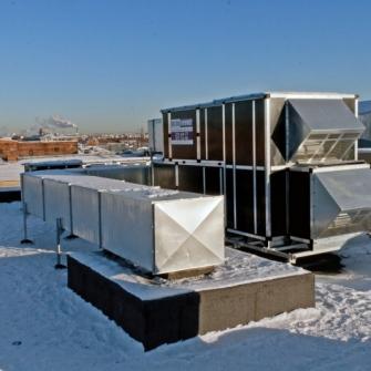 Вентиляционное оборудование WHEIL LUFTTECHNIK на объектах России, выполненных в 2014 году