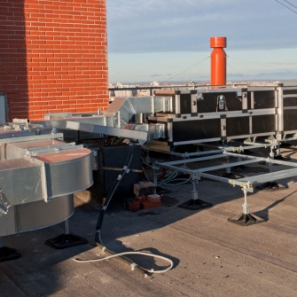 Вентиляционное оборудование WHEIL LUFTTECHNIK на объекте