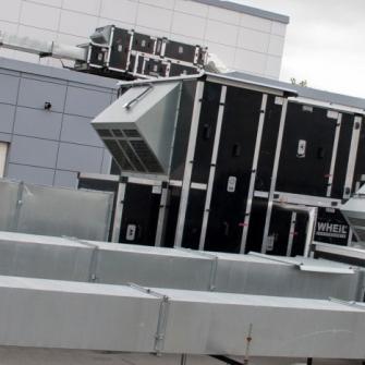 Оборудование WHEIL LUFTTECHNIK на объекте